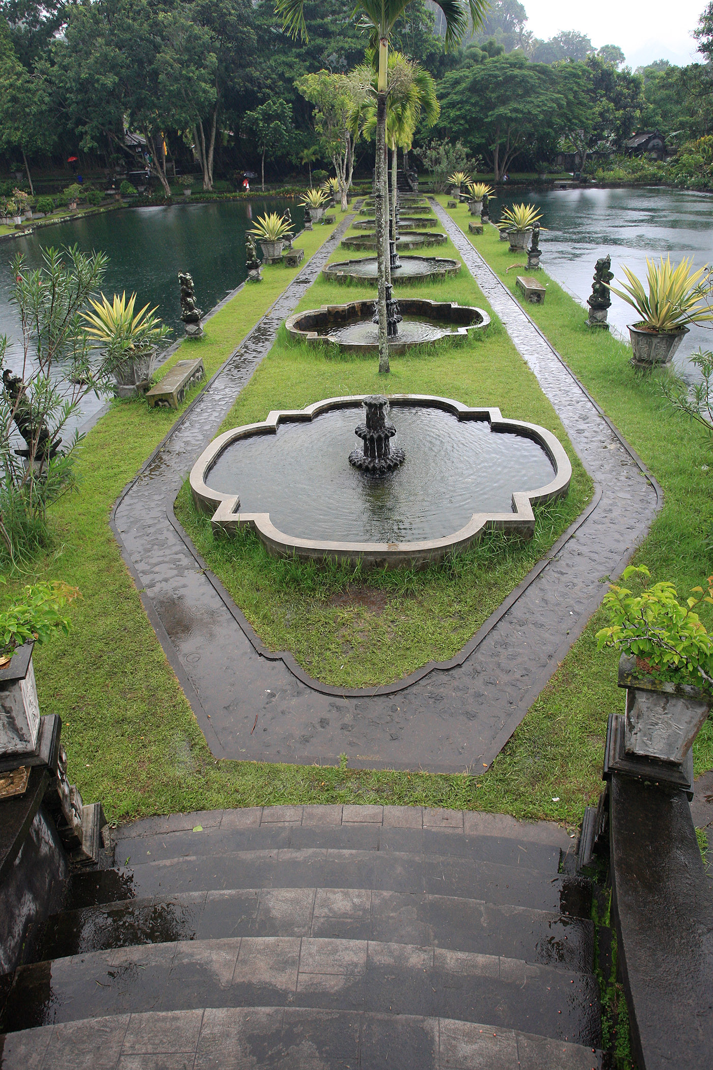 Tirta Gangga Overlook
